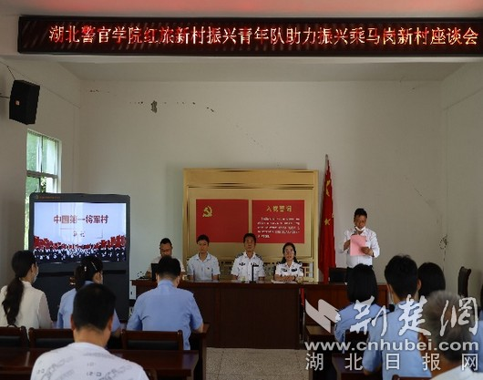 湖北警官学院乡村振兴青年队助力麻城乡村建设