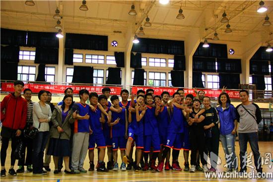 华师一附中初中部男篮成长洪山区中小学生篮球夺得语初中图片
