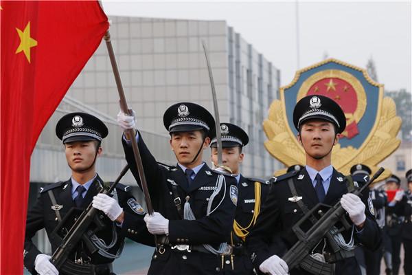 走进安徽警官职业学院警体训练成果
