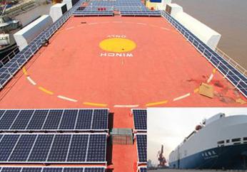 全球最大容量太阳能船舶投入运营